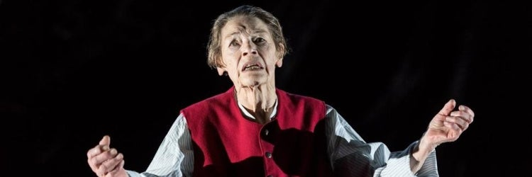 Glenda Jackson in the 2016 Old Vic production of King Lear