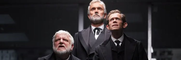 Simon Russell Beale, Ben Miles & Adam Godley in The Lehman Trilogy