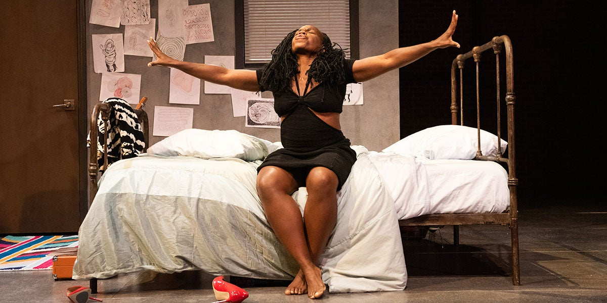 Ngozi Anyanwu in The Last of the Love Letters (Photo by Ahron R. Foster)