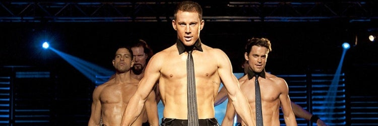"Channing Tatum and the cast of ""Magic Mike"""