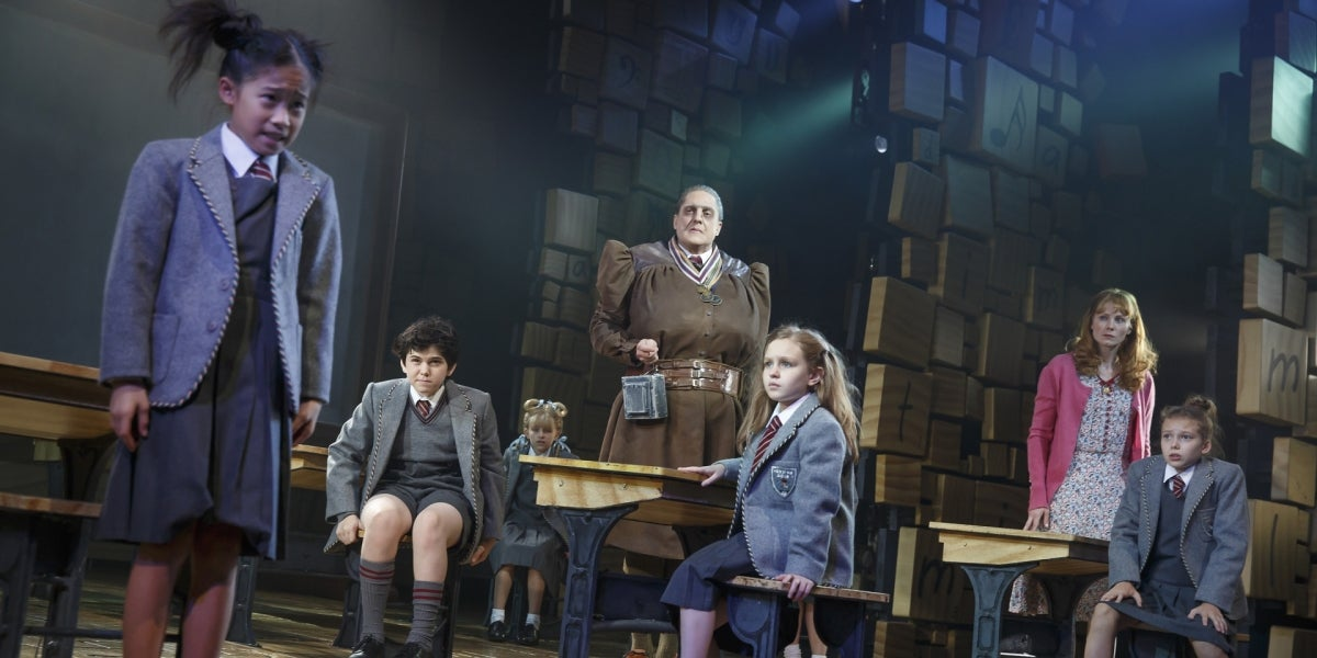 The Broadway Cast of Matilda The Musical