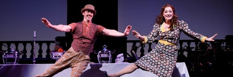 Christian Borle & Laura Michelle Kelly in Me and My Girl