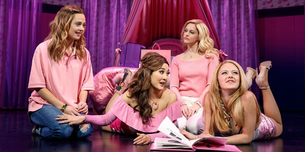 Photo credit: Cast of Mean Girls (Photo by Joan Marcus)