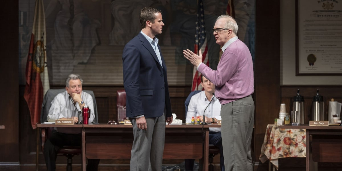 Armie Hammer & Tracy Letts in The Minutes