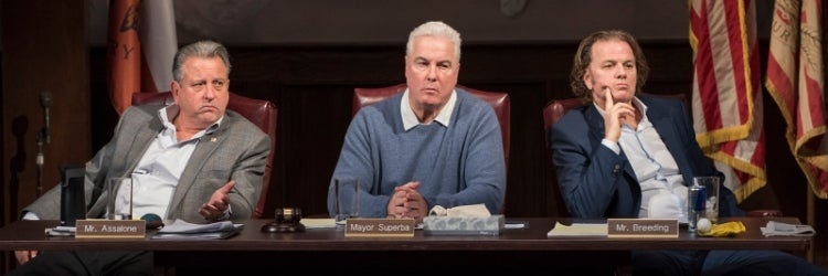 Jeff Still, William Petersen & Kevin Anderson in the Steppenwolf Theatre Company production of The Minutes