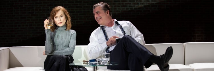 Isabelle Huppert & Chris Noth in The Mother