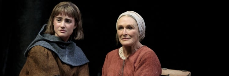 Grace Van Patten & Glenn Close in Mother of the Maid