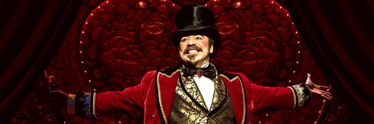 Danny Burtsein in Moulin Rouge! The Musical