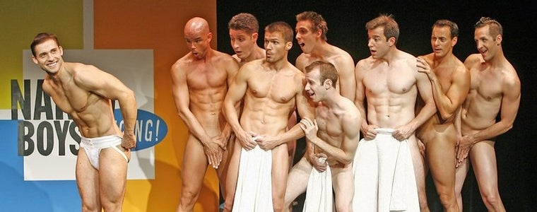 Singing Naked cast boys