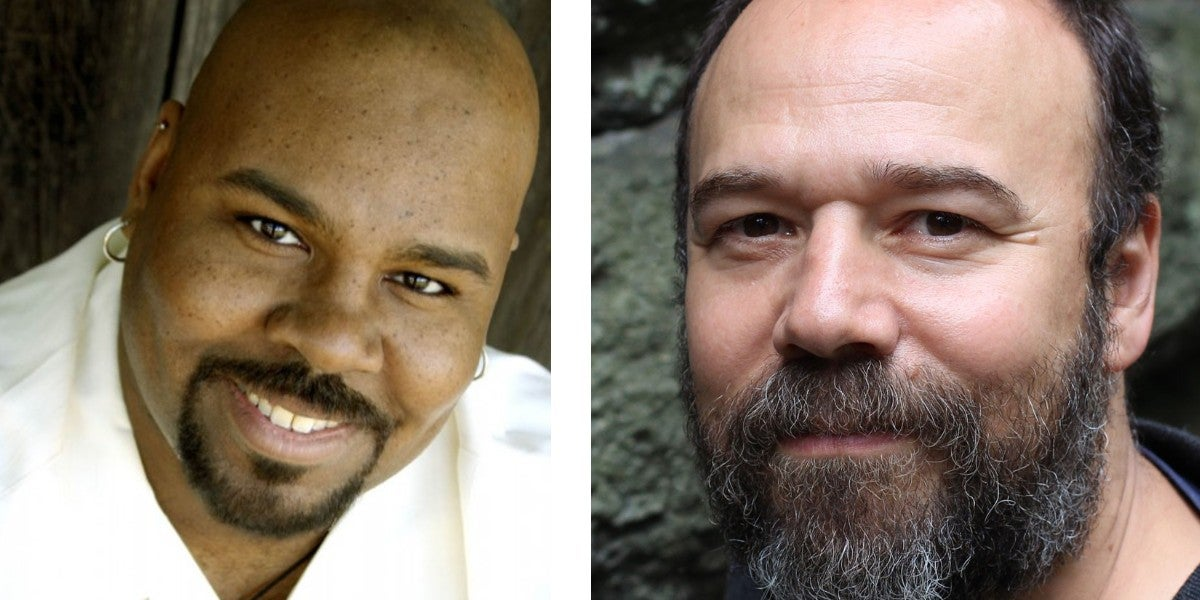 Photo credit: James Monroe Iglehart and Danny Burstein (Courtesy of IBDB)
