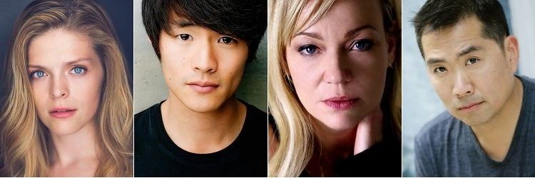 Molly Griggs, Christopher Larkin, Samantha Mathis & Andrew Pang