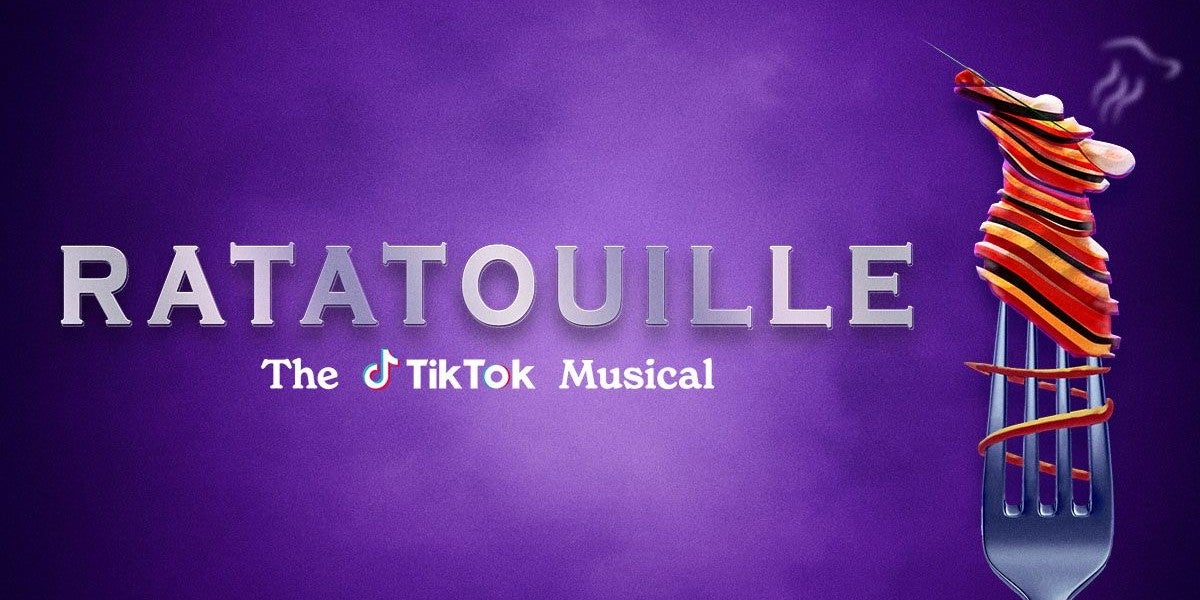 Ratatouille the Musical reviews