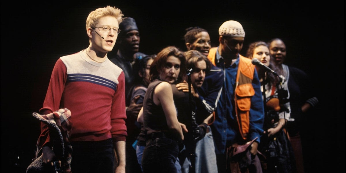 Anthony Rapp and the Broadway Cast of Rent