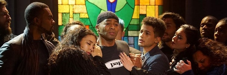 Brandon Victor Dixon and the Cast of Rent on Fox