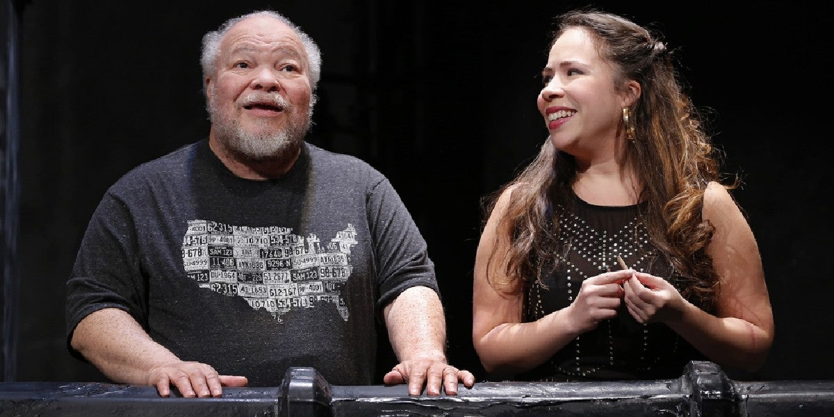 Photo credit: Stephen McKinley Henderson and Rosal Colon in 'Between Riverside and Crazy' at Second Stage Theatre in 2015. (Photo by Carol Rosegg)