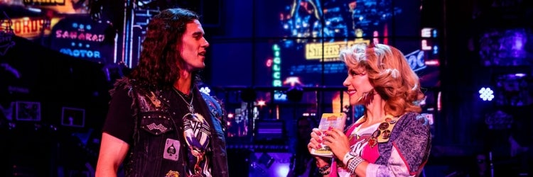 CJ Eldred & Kirsten Scott in Rock of Ages