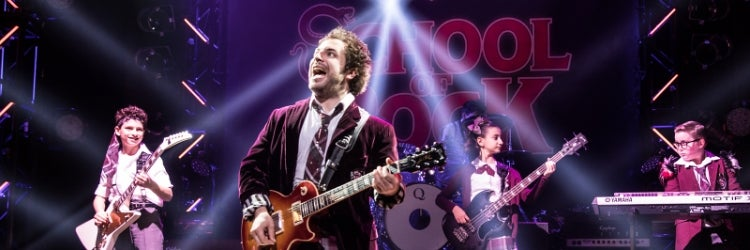 Justin Collette in School of Rock: The Musical