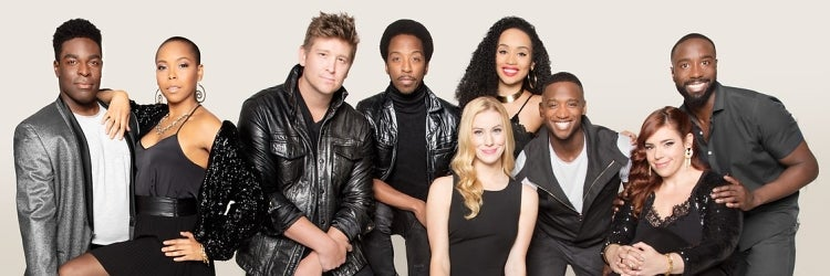 The Cast of Smokey Joe's Cafe
