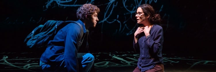 Will Hochman & Mary-Louise Parker in The Sound Inside