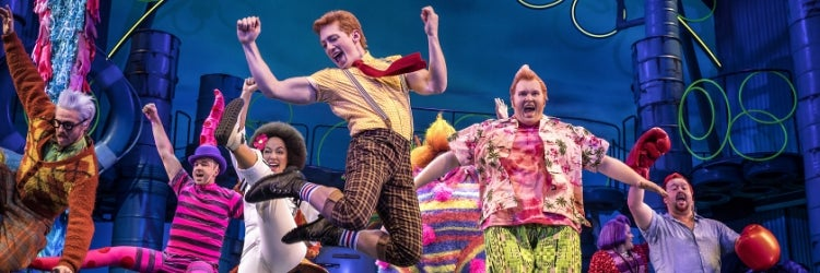 Ethan Slater and the Company of SpongeBob SquarePants