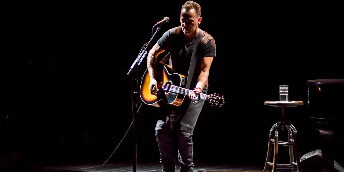 Photo credit: Bruce Springsteen (Photo by Rob DeMartin)