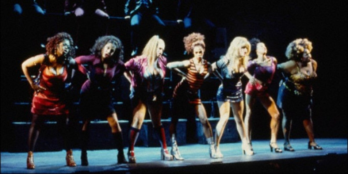 The original Broadway production of The Life (Photo by Carol Rosegg)