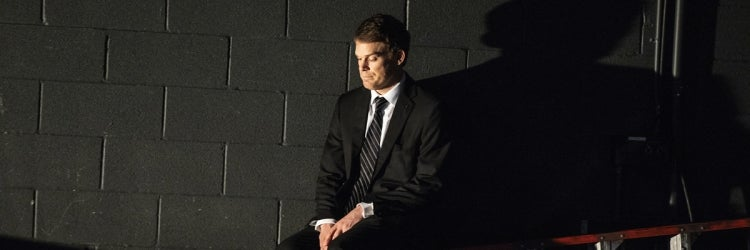 Michael C. Hall in Thom Pain (based on nothing)