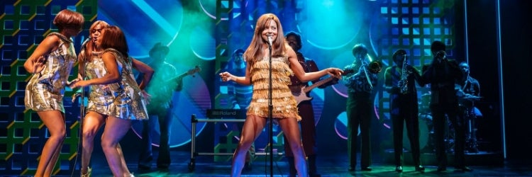 Adrienne Warren in the West End production of Tina: The Tina Turner Musical
