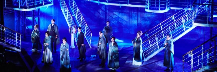 A scene from the South Korean production of Titanic at the Charlotte Theatre in Seoul