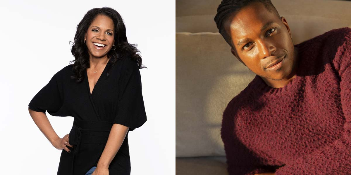 Photo credit: Audra McDonald and Leslie Odom Jr (Photos by Allison Michael Orenstein and Tony Duran)