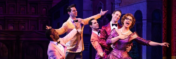 Santino Fontana and the Company of Tootsie