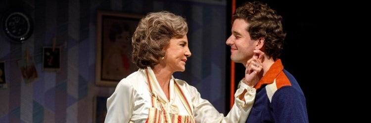 Mercedes Ruehl & Michael Urie in Torch Song