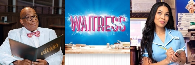 Al Roker as Joe and Jordin Sparks as Jenna in Waitress