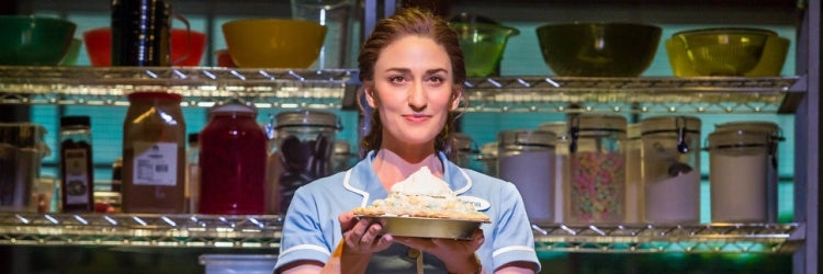 Sara Bareilles in Waitress