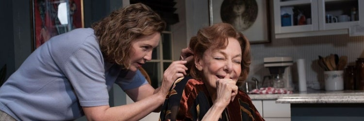 Joan Allen & Elaine May in The Waverly Gallery