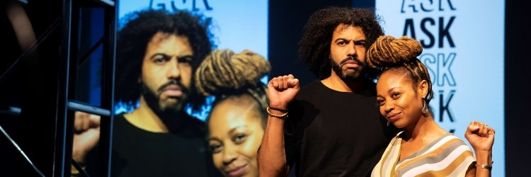 Daveed Diggs & Sheria Irving in White Noise