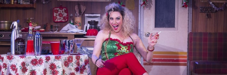 Lesli Margherita in Who's Holiday!
