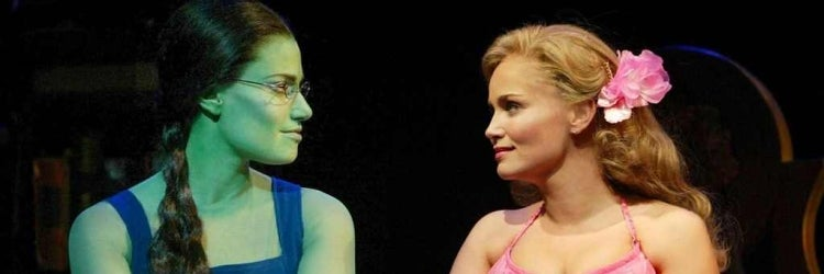 Idina Menzel & Kristin Chenoweth in Wicked