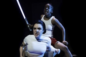 Elise Kibler & Kara Young in All the Natalie Portmans