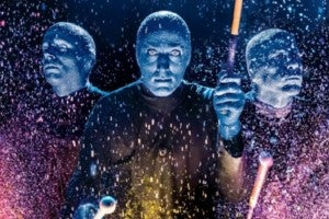 Photo credit: Blue Man Group (Photo by Lindsey Best)
