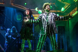Sophia Anne Caruso & Alex Brightman in Beetlejuice