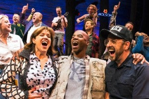 Photo credit: Cast of Come From Away (Photo by Matthew Murphy)
