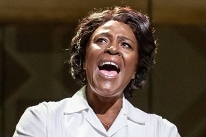 Sharon D Clarke in the West End production of Caroline, or Change