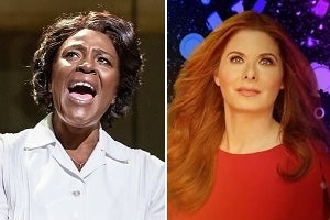Sharon D. Clarke & Debra Messing