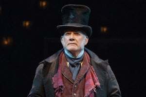 Campbell Scott in A Christmas Carol