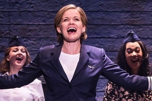 Becky Gulsvig in Come From Away