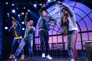 The Cast of freestyle love supreme