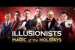 The Cast of The Illusionists: Magic Of The Holidays 2019
