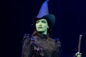 Lindsay Pearce in 'Wicked' on Broadway. (Photo by Joan Marcus)