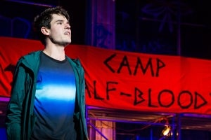 Chris McCarrell in The Lightning Thief: The Percy Jackson Musical